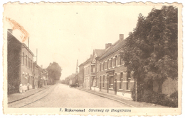 Rijkevorsel - Steenweg Op Hoogstraten - Uitg. Drukkerij Peeters, Rijkevorsel - Rijkevorsel