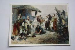 HISTORY OF MOLDOVA PEOPLE By Grigorashenko -  Judgement In Moldavian Village  - OLD Postcard 1971 - - Moldavie