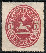 Stamp German States Brunswick  1865  1gr  Mint Lot#35 - Braunschweig