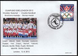 Croatia Zagreb 2012 / Olympic Games London / Handball / Croatian Bronze Medal