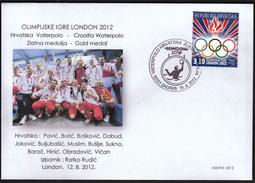 Croatia Zagreb 2012 / Olympic Games London / Waterpolo / Croatian Gold Medal