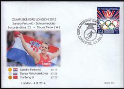 Croatia Zagreb 2012 / Olympic Games London / Athletics Discus Throw / Sandra Perkovic Gold Medal Winner