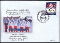 Croatia Zagreb 2012 / Olympic Games London / Rowing Men's Quadruple Sculls / Croatian Silver Medal