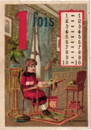 10 CARDS  C1900   Multiplication Tables  Volant Dolls Children's Games 1 To 10  Litho - Autres
