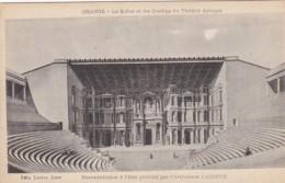France Orange La Scene Et Les Gradins Du Theatre Antique - Orange