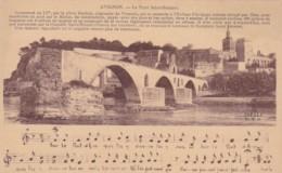 France Avignon Le Pont Saint-Benezet - Avignon