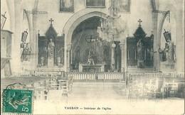 71 VAUBAN - INTERIEUR DE L' EGLISE - Autres Communes