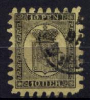 Finlandia 1870 10p.Unif.7 O/Used VF/F Firmato A.Diena - Used Stamps