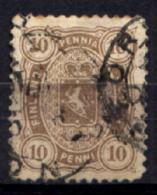 Finlandia 1875 Unif.15 O/Used VF/F - Usati