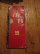 Atlas Routier Peugeot Draeger Freres 1952 Bergelin - Cartes/Atlas