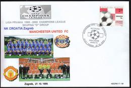 "Croatia Zagreb 1999 / UEFA Champions League 1999-2000 / Group ""D"" / NK Croatia - FC Manchester United - Eurocopa (UEFA)"