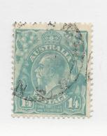 25867) Australia George V   Watermark  Multi Small Crown 1928 - Gebruikt