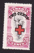 Liberia, Scott #B8, Mint Hinged, Mercury Surcharged, Issued 1918 - Liberia