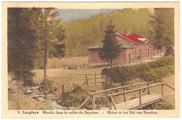 Longfaye - Moulin Dans La Vallée Du Bayehon - Colorisée - Malmedy