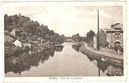 Lobbes - Vue Sur La Sambre - 1948 - Lobbes