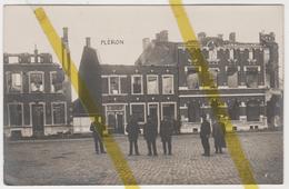 BELGIQUE FLERON  CARTE PHOTO ALLEMANDE MILITARIA 1914/1918 WK1 WW1 - Fléron