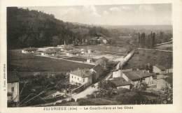 """CPA FRANCE 01 """" Jujurieux, La Courbatière Et Le Ciités"""". - Other Municipalities"""