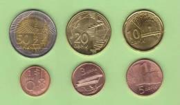 AZERBAIYAN    Tira/Set  6 Monedas/Coins  SC/UNC     DL-9720 - Azerbaiyán