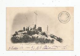 Cp , 65 , LOURDES , Pic Du JER , La Croix Lumineuse , Dos Simple , Voyagée 1902 - Lourdes