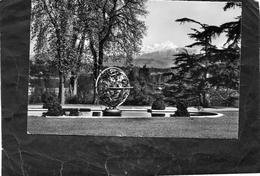 GENEVE - La Sphère Armillaire Du Palais Des Nations Unies Et Le Mont-blanc - GE Genève
