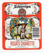 Vino Rosato Chiaretto Schirripa - Casa Vinicola Fratelli Campostrini - Sabbionara D'Avio (Trento)  - (FDC2464) - Vino Rosato