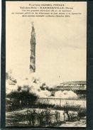 CPA - Guerre 1914 - Filature HARMEL FRERES, WARMERIVILLE,  Prise Au Moment Où Les Allemands La Font Sauter à La Dynamite - Guerre 1914-18