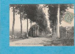 Orsay (91). - Route De Bure Et Villa D'Orsay. - Orsay