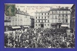 VIENNE  Marché 1907  (1 INFIME ET TRES LEGERE PLIURE A G SINON TTB ETAT) Ww1213) - Vienne
