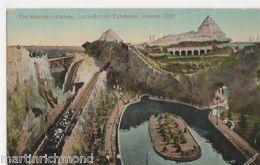 Latin-British Exhibition, The Mountain Railway 1912 Postcard, B505 - Expositions