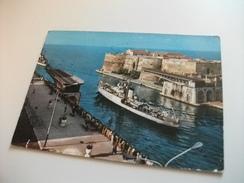 NAVE SHIP GUERRA E 565 SIBILLA  TARANTO PONTE GIREVOLE - Guerra