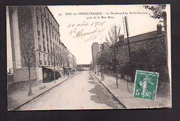 92  Issy Les Moulineaux / Boulevard Du Point Du Jour Près De La Rue Bara - Issy Les Moulineaux