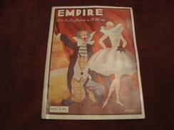 Programme Music-hall Cirque EMPIRE - Programma's