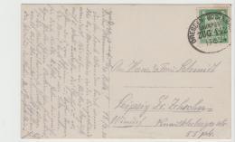 W253 / Bahnpost Dresden-Bodenbach 1924 Auf Fotokarte - Briefe U. Dokumente
