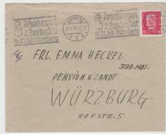 W252 / Maschinen-Sonderstempel Zum Sportfest 1929 In Nürnberg. Sehr Klarer Stempel. - Briefe U. Dokumente