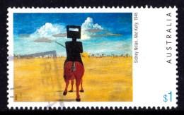 Australia 2003 Painting $1 Nolan - Ned Kelly, 1946 Used - 2000-09 Elizabeth II