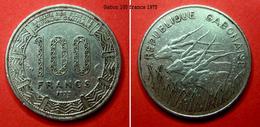 GABON Répulique Gabonaise . 100 FRANCS 1975 - Gabon