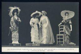 Cpa Machines à Coudre Brunswick - Silhouettes Parisiennes Artistiques - Toilettes De Mariage   NCL15 - Advertising