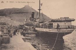 CPA - Oran - Le Sidi Brahim Dans Le Port - Oran