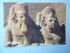 EGYPTE ABOU SIMBEL ROCK TEMPLE OF RAMSES II - Abu Simbel