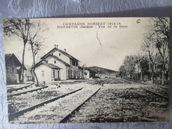 CAMPAGNE D ORIENT. MONASTIR . VUE DE LA GARE - Serbie