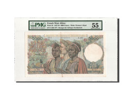 Afrique Occidentale, 5000 Francs, 22.12.1950, PMG AU55, KM:43 - États D'Afrique De L'Ouest