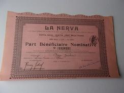 LA NERVA (1911) - Actions & Titres