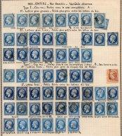 FRANCE - Variétés Sur Le 20 C. - 1853-1860 Napoléon III