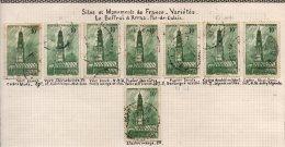 FRANCE - Beffroi D'Arras - Bel Ensemble De Variétés - Variétés: 1941-44 Oblitérés