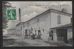 SAINT SEURIN D'UZET - Le Bureau Téléphonique - France