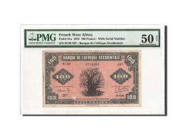 Afrique Occidentale, 100 Francs, 14.12.1942, PMG AU50, KM:31a - West African States