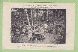 Vie Aux Tranchées En Alsace, Une Manille. Expédié Du Secteur 55 Par Caporal Du 98e Régiment D'Infanterie. 2  Scans. - Guerre 1914-18