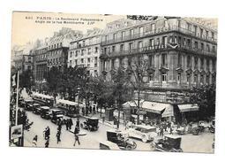(12652-75) Paris - Boulevard Poissonniere - Angle De La Rue Montmartre - District 09