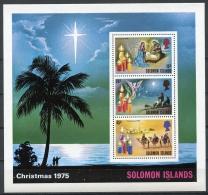 Solomon Islands, 1975, Christmas, MNH, Michel Block 4 - Salomon (Iles 1978-...)