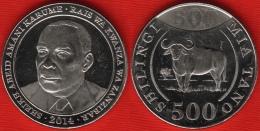 "Tanzania 500 Shillings 2014 ""Buffalo"" UNC - Tanzania"